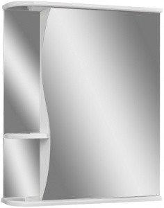 Шкаф-зеркало Волна 1-55 правый  АЙСБЕРГ, фото 2