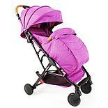 Прогулочная коляска Skillmax TL- BLX 20 розовый  (purple), фото 2