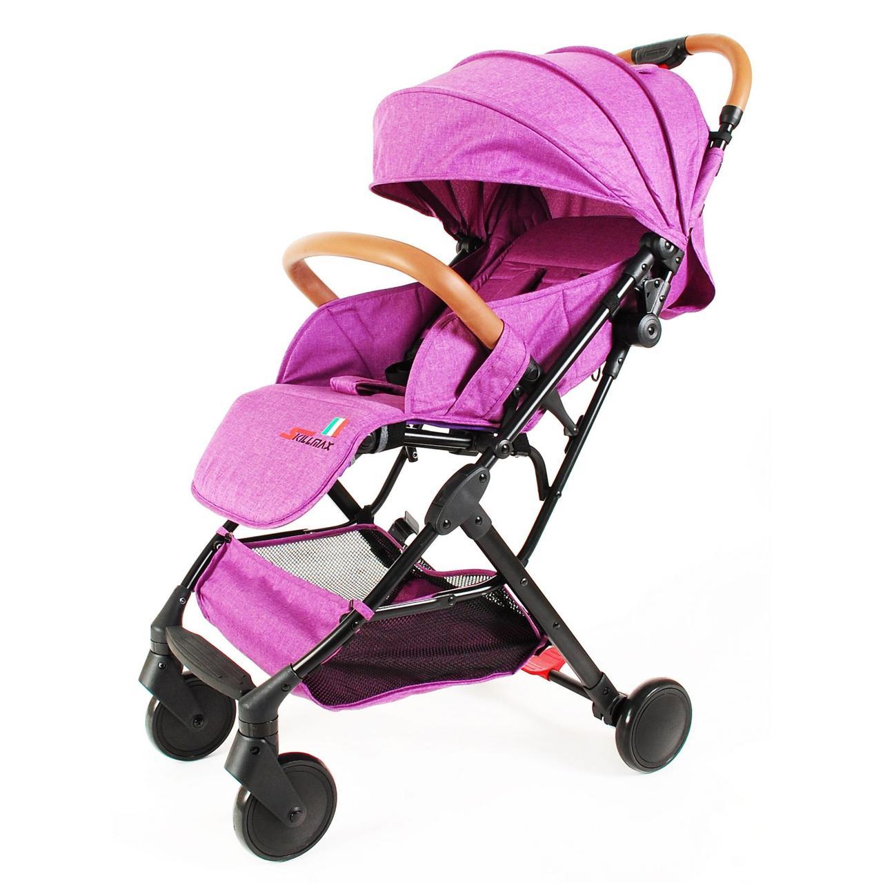 Прогулочная коляска Skillmax TL- BLX 20 розовый  (purple)