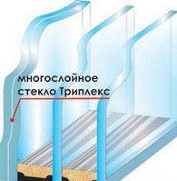 Ударопрочные стеклопакеты триплекс