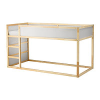 Кровать двусторонняя КЮРА белый сосна ИКЕА, IKEA, фото 1