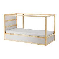 Кровать двусторонняя КЮРА сосна 90x200 см ИКЕА, IKEA