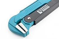 """Ключ трубный рычажный GROSS 15605 (№3, 2"""", цельнокованый, CrV, тип """"L"""")"""