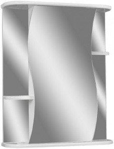 Шкаф-зеркало Волна 2-50 левый  АЙСБЕРГ, фото 2