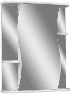 Шкаф-зеркало Волна 2-55 левый АЙСБЕРГ