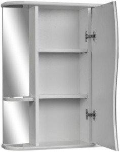 Шкаф-зеркало Волна 2-55 правый АЙСБЕРГ, фото 2
