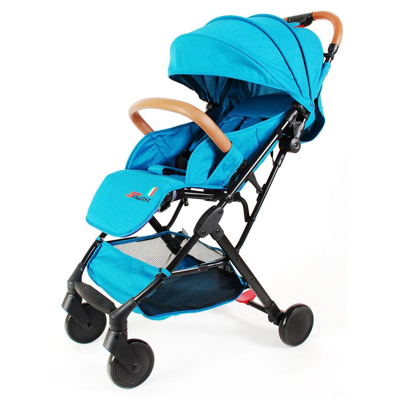 Прогулочная коляска Skillmax TL- BLX 20 зелено-синий (green blue)