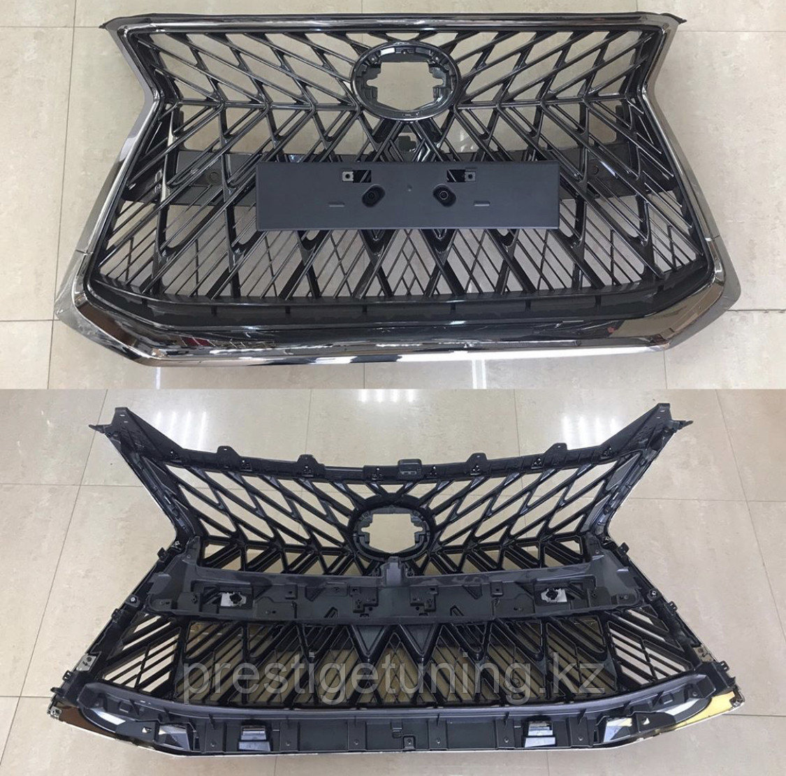 Решетка радиатора на Lexus LX570 2016- дизайн Black Vision