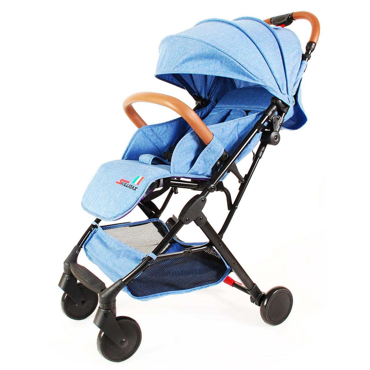 Прогулочная коляска Skillmax TL- BLX 20 голубой ( blue)