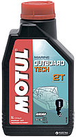 Моторное масло для 2-х тактных двигателей Motul Outboard Tech 2T