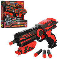 Детский пистолет бластер с пулями-присосками арт. FJ802