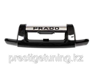 Защита переднего бампера на Land Cruiser Prado 120 2003-09