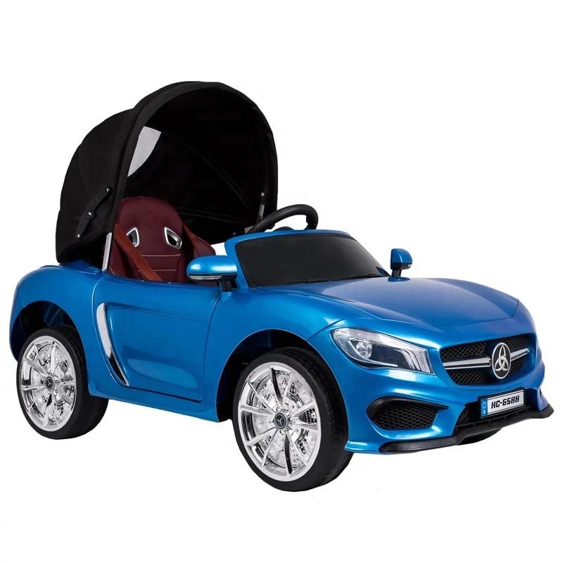 Детский электромобиль Mercedes HC 6588 с откидным капором