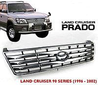 Решетка радиатора на Land Cruiser Prado 95 1996-2002 Горизонтальные полосы