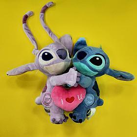 Плюшевая игрушка Стич Влюбленные