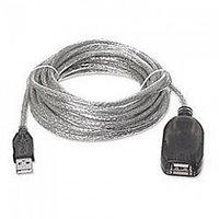 Кабель-удлинитель Manhattan USB 2.0 А М to A F (5 м)