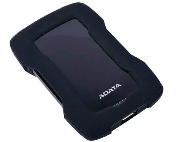 Внешний жесткий диск 2,5 2TB Adata AHD330-2TU31-CBK черный