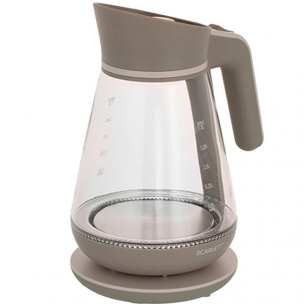 Электрический чайник Scarlett SC-EK27G38 (стекло)