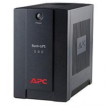 Источник бесперебойного питания APC Back-UPS BX, Line-Interactive, 500VA / 300W