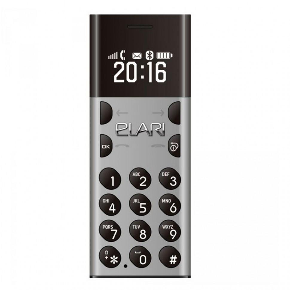 Мобильный телефон Nanophone Elari серый