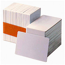 Классические чистые белые карты с магнитной дорожкой LOCO - 0.76mm, 5 пачек по 100 карт