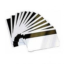 Пластиковые карты с магнитной полосой HiCo (чистые) - 0.76mm