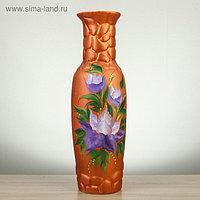 """Ваза настольная """"Николь"""", цветы, 39 см, керамика"""
