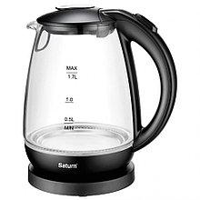 Электрический чайник Saturn ST-EK8428 стекло (черный)