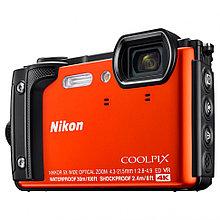 Фотоаппарат компактный Nikon COOLPIX W300 оранжевый