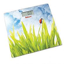 Весы напольные Saturn ST-PS0282 зелено-голубой (Grass)