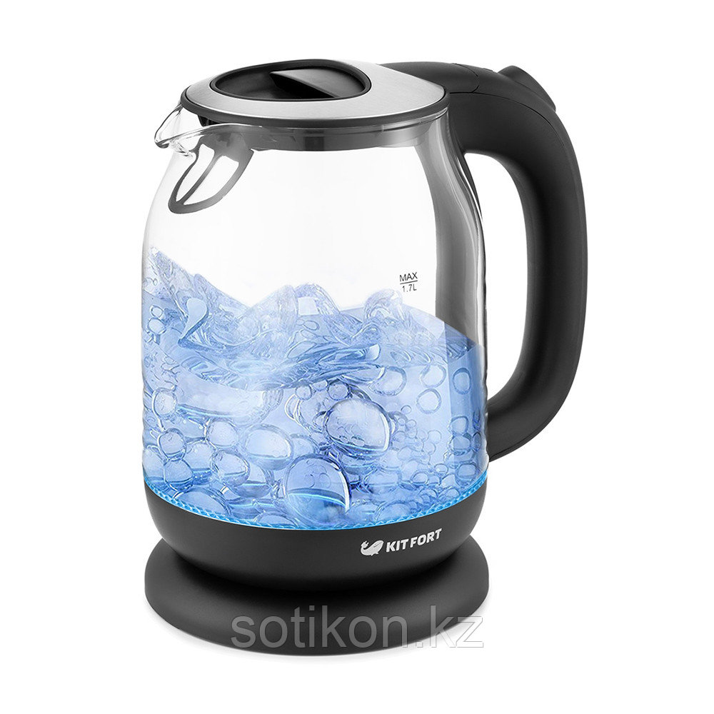 Электрический чайник Kitfort KT-654-6 черный