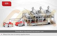 AZX-SSS PP Спанбонд Нетканые ткани делая машину для строительной техники