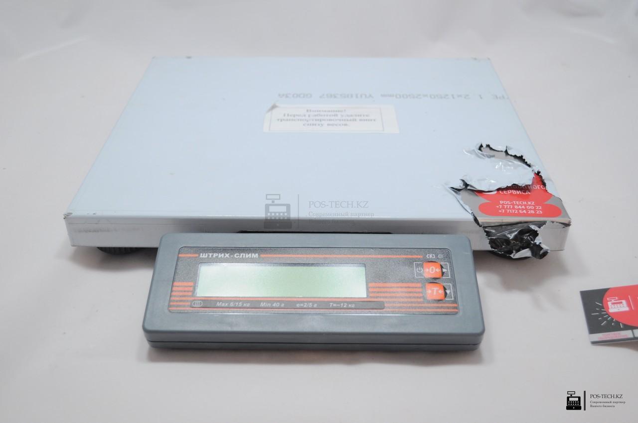 """Весы электронные """"Штрих-СЛИМ 400 (30-5.10)"""" системные"""
