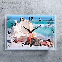 """Часы настенные, серия: Море, """"Обитатели морского дна"""", 25х35 см, микс"""