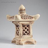"""Садовый светильник """"Китайский домик"""", шамот, 30 см"""