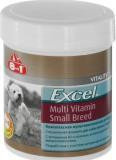 8 in1 Эксель Мультивитамины для собак мелких пород Excel Multi Vitamin Small Breed, 70 таблеток