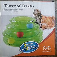 Многоуровневая игрушка для кошек и котят