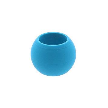 Кугель круглый для штор  (1 шт), цвет голубой