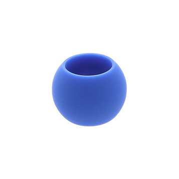 Кугель круглый для штор  (1 шт), цвет синий