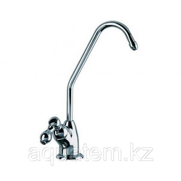 Кран хромированный одинарный для чистой воды GF-03C
