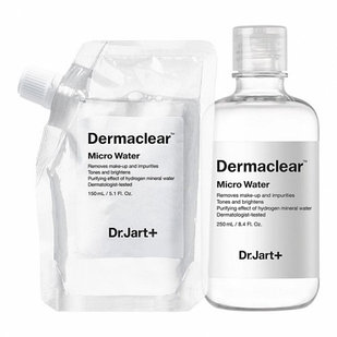 Мицелярная вода для очищения и тонизирования кожи DR JART + DERMACLEAR MICRO WATER SET Набор