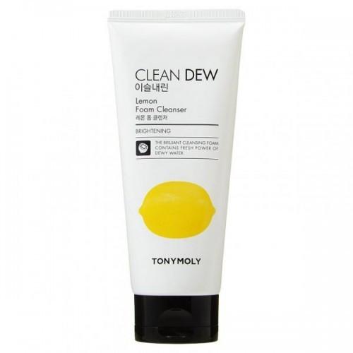 Пенка для лица с экстрактом лимона  TONY MOLY Clean Dew Lemon Foam Cleanser