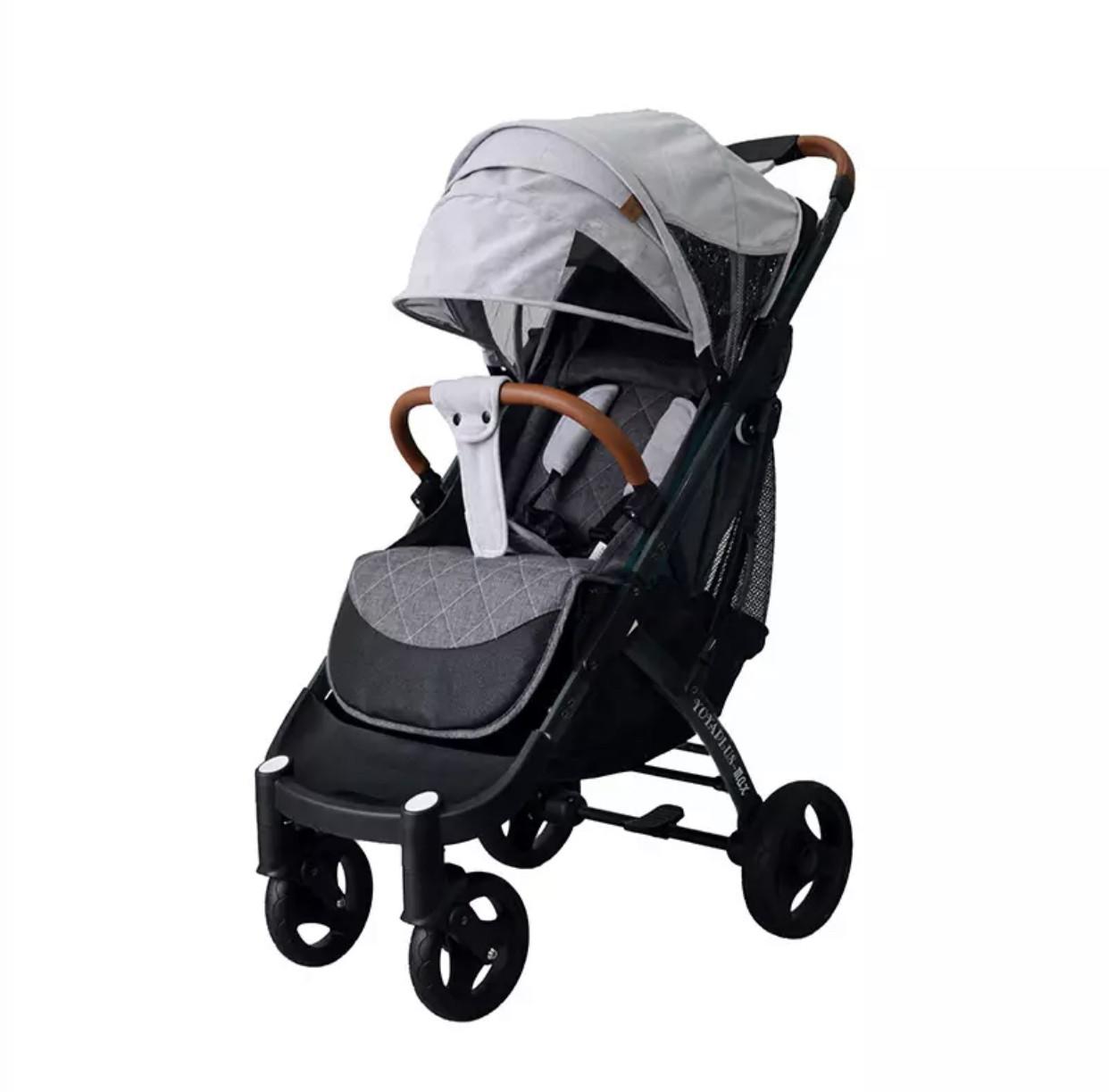 Прогулочная коляска YOYA plus Max -gray (серая)