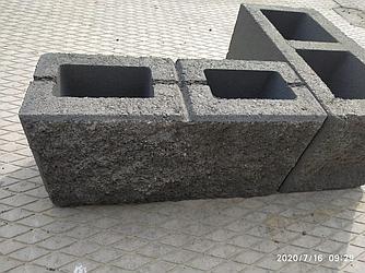 """Сплитерный блок """"рваный"""" (190х190х188)"""