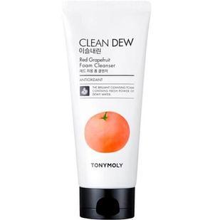 Пенка для очищения с экстрактом красного грейпфрута  TONY MOLY Clean Dew Red Grapeаruit Foam