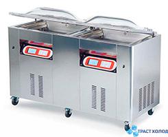 Машина вакуумной упаковки камерного типа EUROMATIC HYPER, двухкамерная