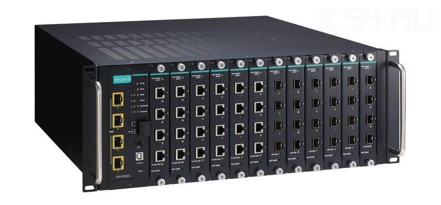 Промышленный коммутатор MOXA ICS-G7748A-HV-HV