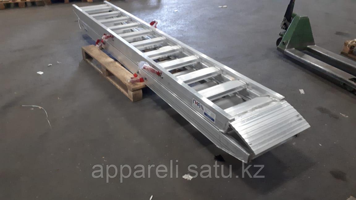 Алюминиевые аппарели от производителя 3,5 метра, 6,5 тонн