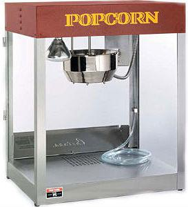 Аппарат для приготовления попкорна Cretors Profiteer 14oz соль