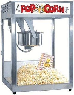 Аппарат для приготовления попкорна Gold Medal Macho Pop BC 16/18oz соль (для пристенного модуля)